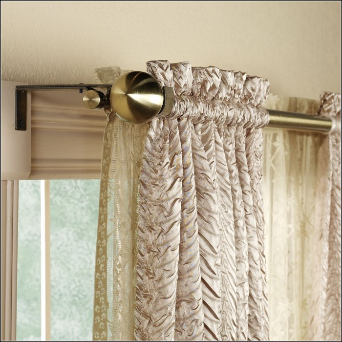 Swing Away Shower Curtain Rod Curtains Home Design