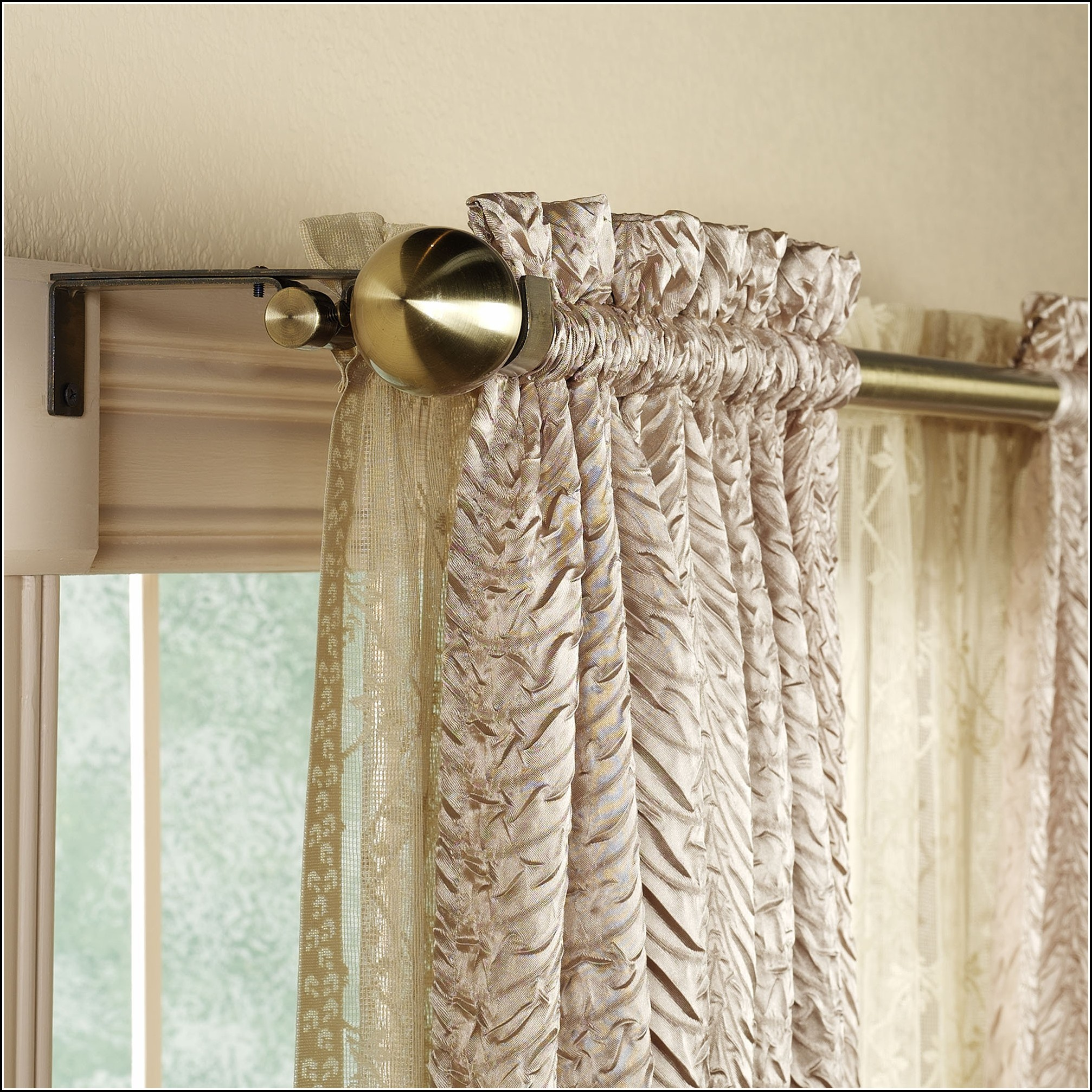 Swing Arm Curtain Rod Amazon Download Page Home Design