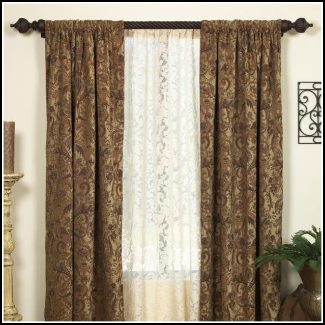 Tension Curtain Rods 144 Inches Curtains Home Design