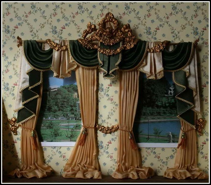 Valances Curtains For Living Room
