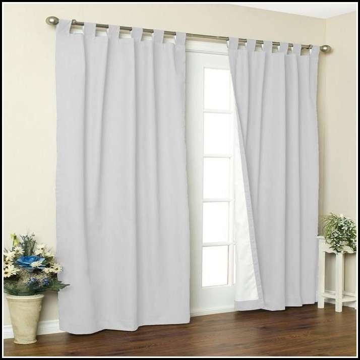 White Tab Top Curtains Ikea Home Design Ideas