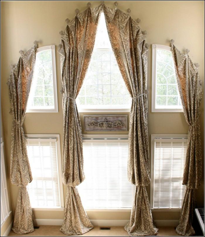 170 Inch Bronze Curtain Rod