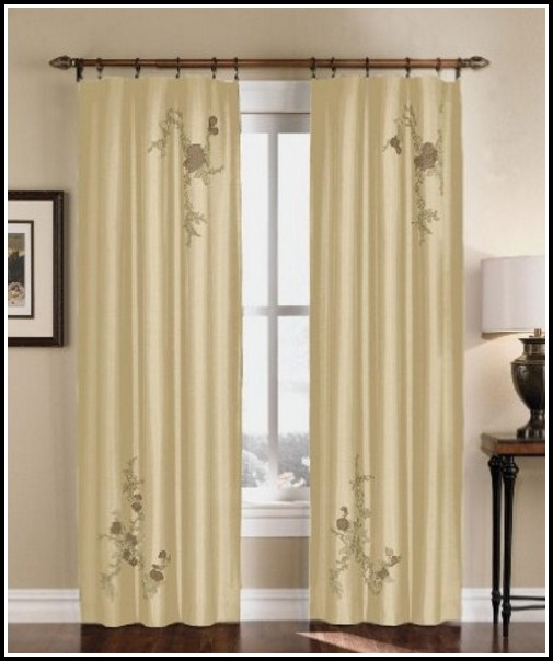 45 Inch Long Thermal Curtains