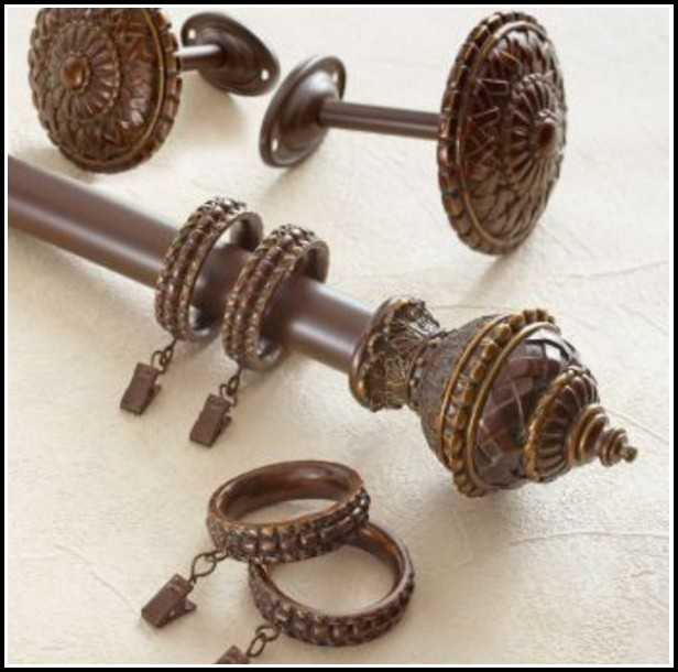 Curtain Rods With Glass Finials Curtains Home Design