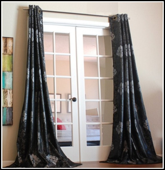 Apache Gold Teal Curtains