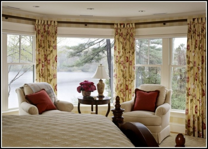 Bay Window Curtain Rods Walmart