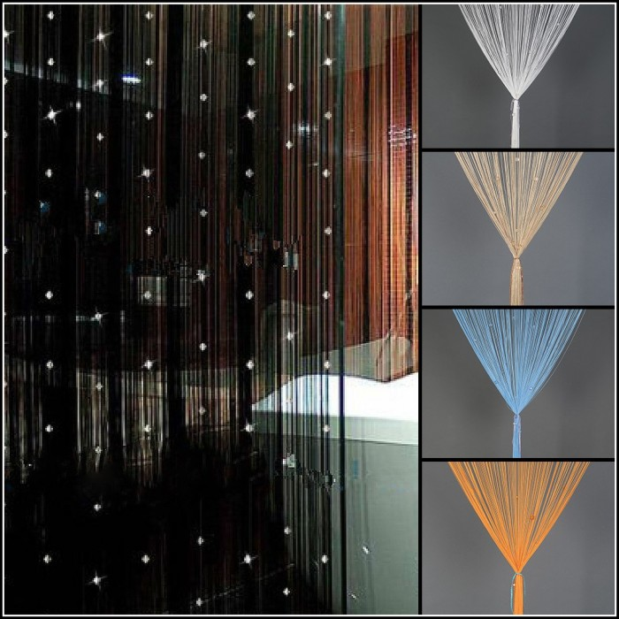 Beaded Curtains For Doors Walmart - Curtains : Home Design Ideas ...