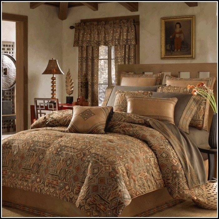 Bed Comforter Sets With Curtains