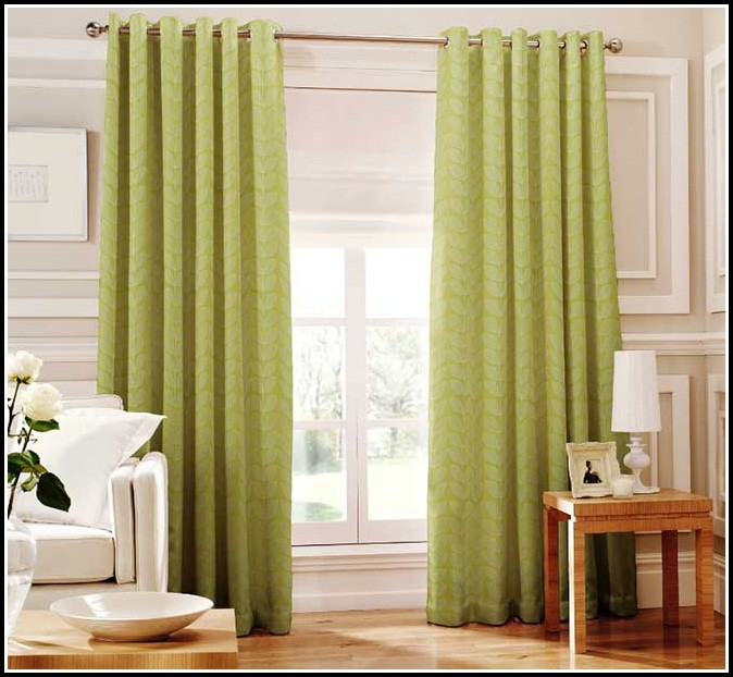 Green Walls Gold Curtains Curtains Home Design Ideas