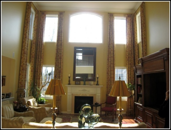 Curtains For High Ceiling Windows Curtains Home Design