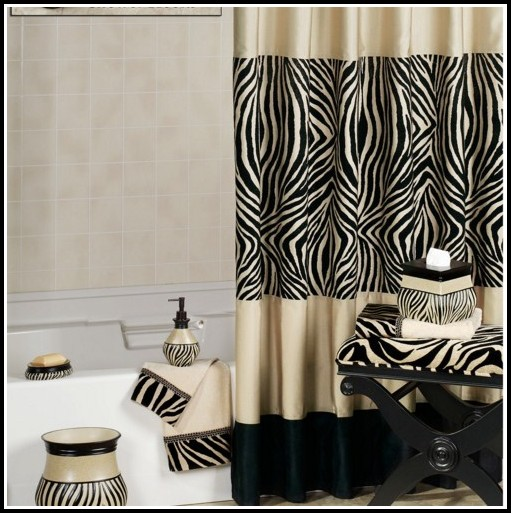 Black And Brown Eyelet Curtains