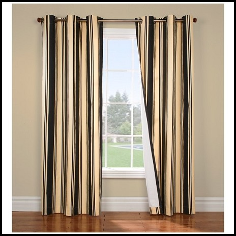 Black And Gold Curtains Ebay