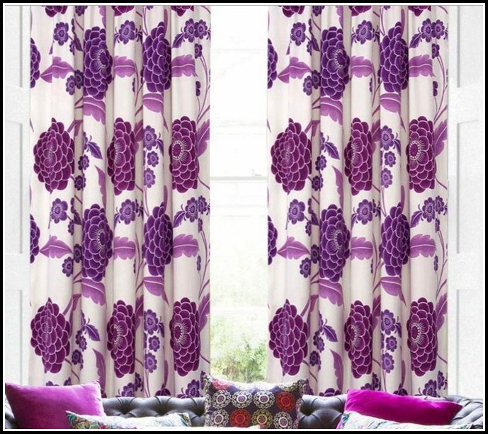 Black And Purple Curtains Uk Curtains Home Design