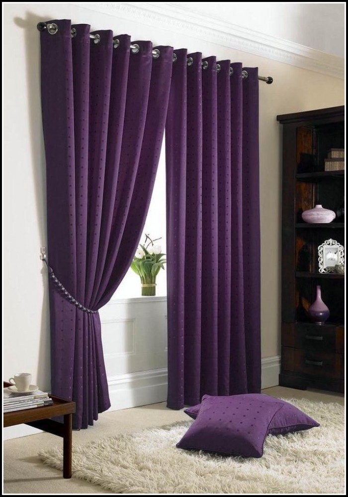 Black And Purple Shower Curtains