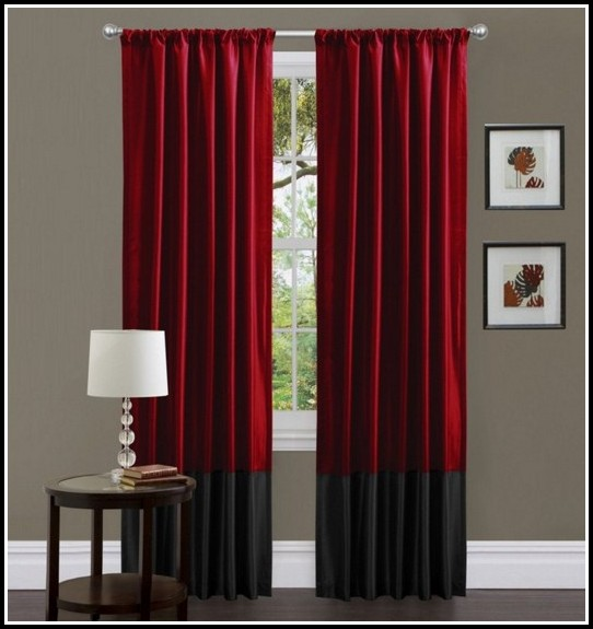 Black And Tan Checked Curtains Curtains Home Design