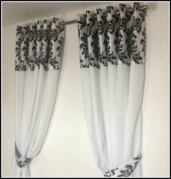Grey And Red Check Curtains Curtains Home Design Ideas