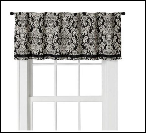 Black And White Damask Curtains Uk
