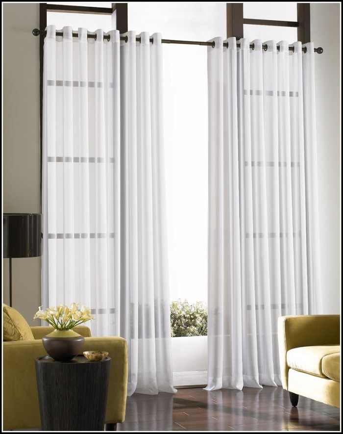 Black And White Sheer Damask Curtains