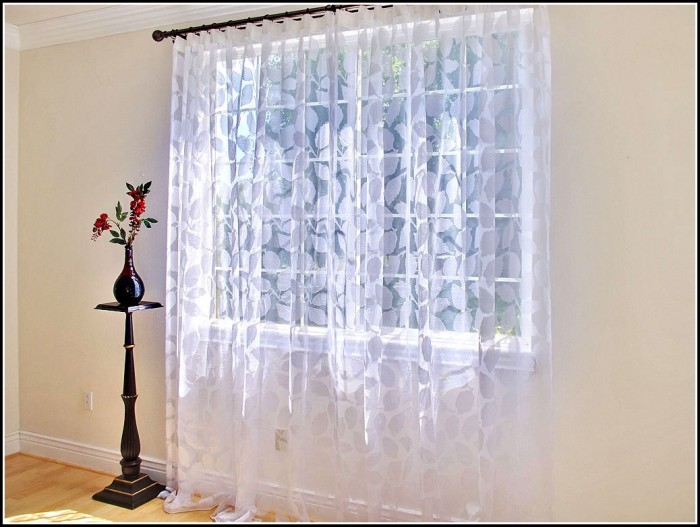 Multi Colored Striped Sheer Curtains Curtains Home