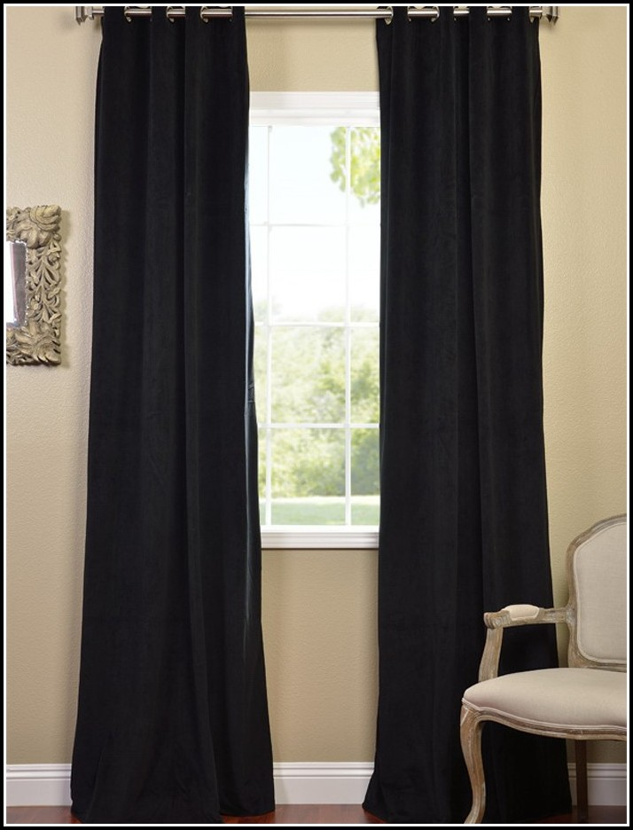 black curtains 120 inches long curtains home design ideas q7pqlelq8z31161. Black Bedroom Furniture Sets. Home Design Ideas