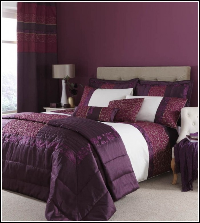 Black Grey And Purple Curtains