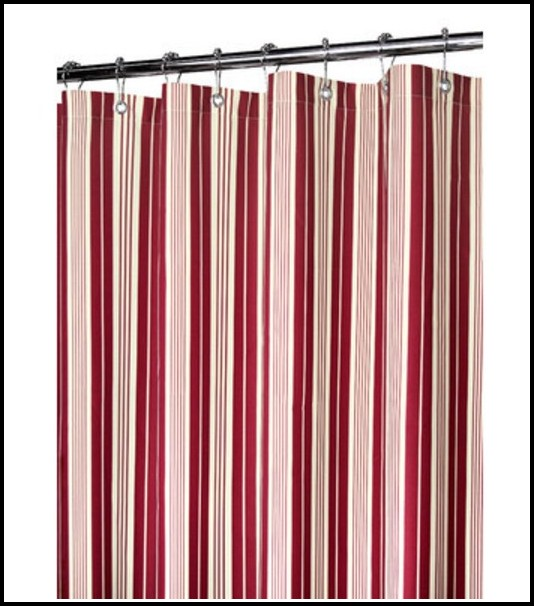 Black Grey And Red Curtains