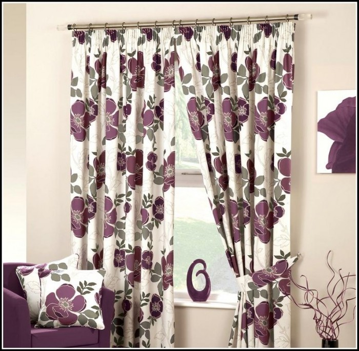 Dark Purple And Black Curtains Curtains Home Design