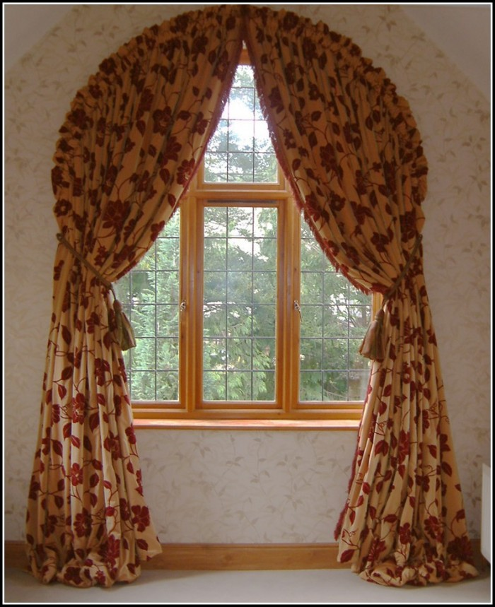 Blackout Curtains For Arched Windows
