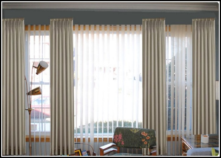 Blinds and net curtains together curtains home design for Curtains and blinds together