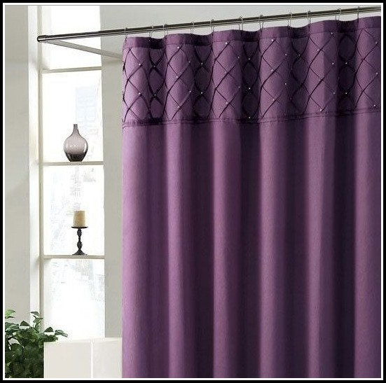 Blue And Purple Shower Curtains