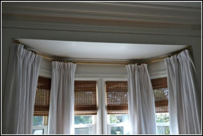 Ceiling Mounted Curtain Rods Track