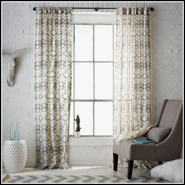 Corner Window Drapes And Curtains