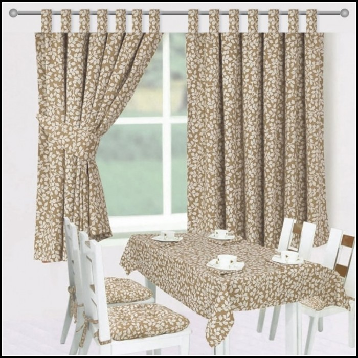 Cotton Duck Tab Top Curtains