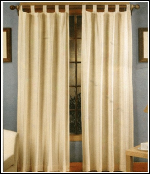 Cotton Tab Top Curtains Uk