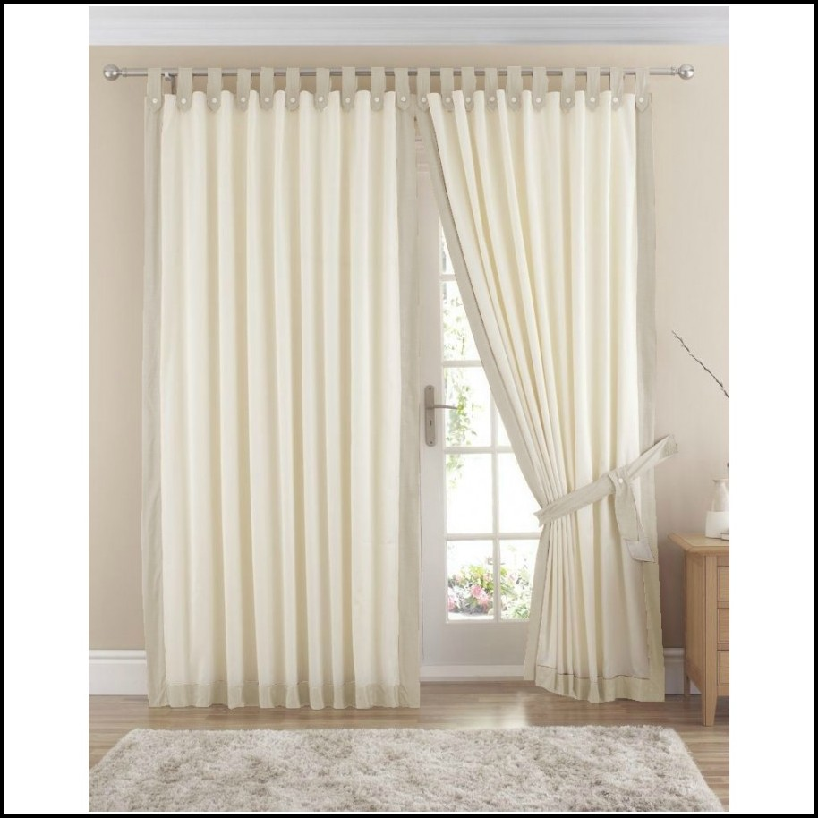 Cream Cotton Tab Top Curtains Download Page Home Design