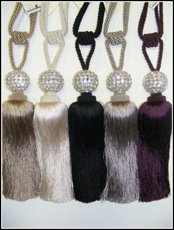 Crystal Ball Curtain Tie Backs