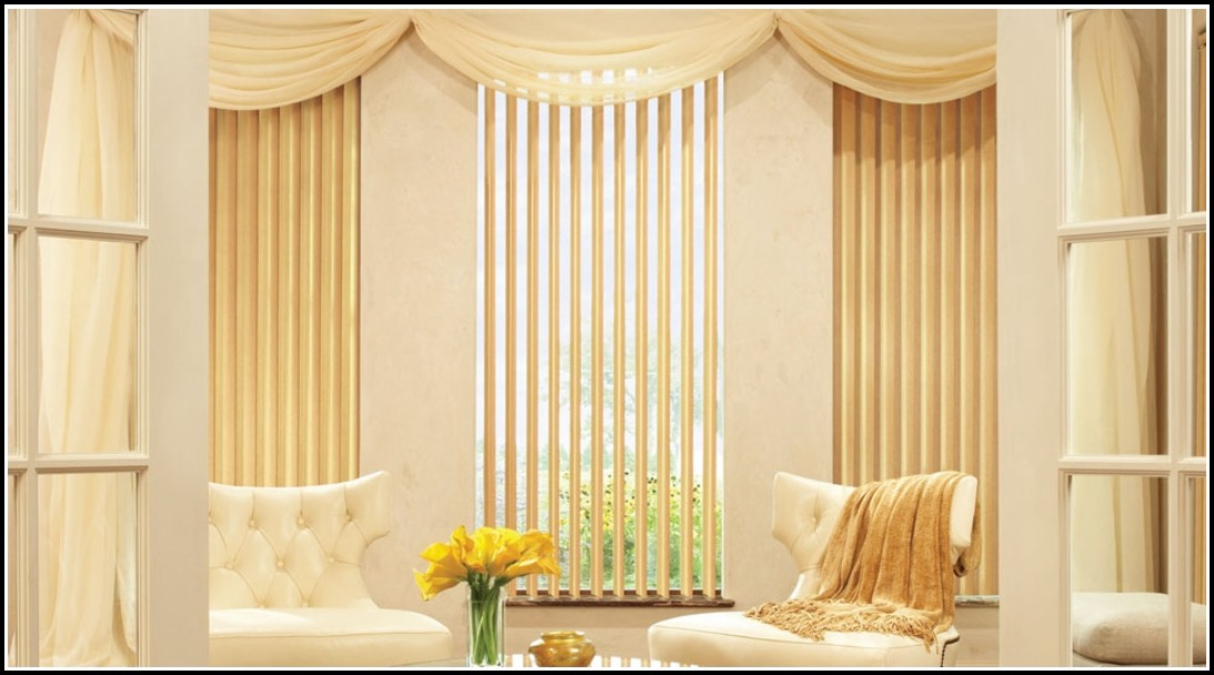 Curtain Attachment For Vertical Blinds