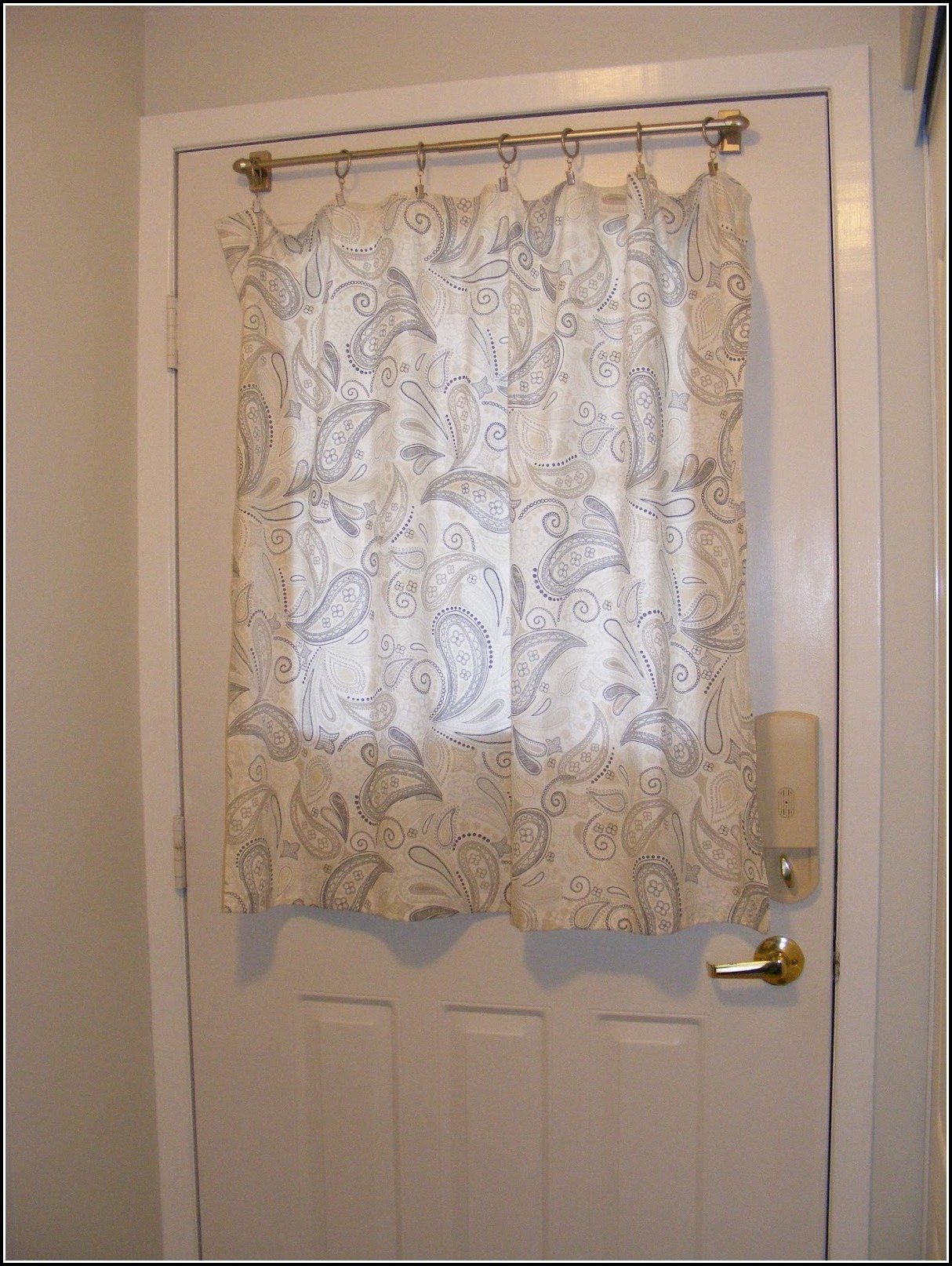 curtain for small window in door curtains home design