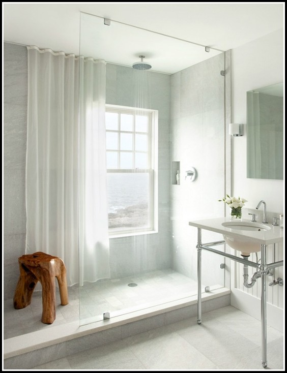 Curtain For Small Window In Shower