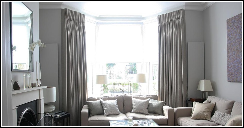 Curtain Rods Bay Windows Ideas