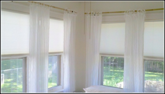 Curtain Rods For Corners Windows