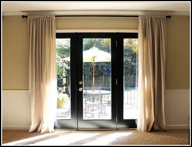 Curtain Rods For French Door Panels