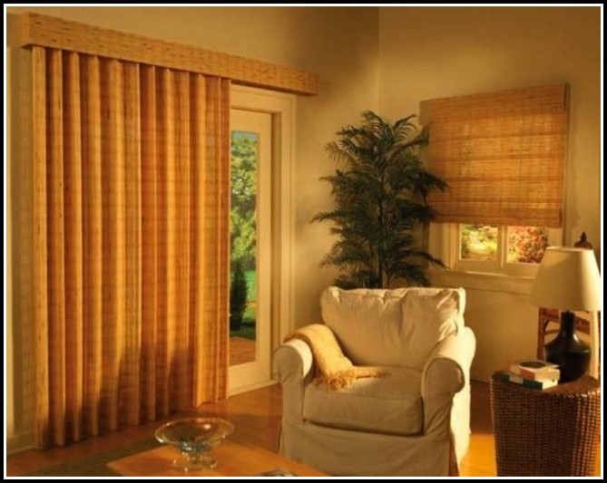 Curtains over vertical blinds sliding glass doors curtains home curtain rods for sliding glass doors with vertical blinds planetlyrics Images