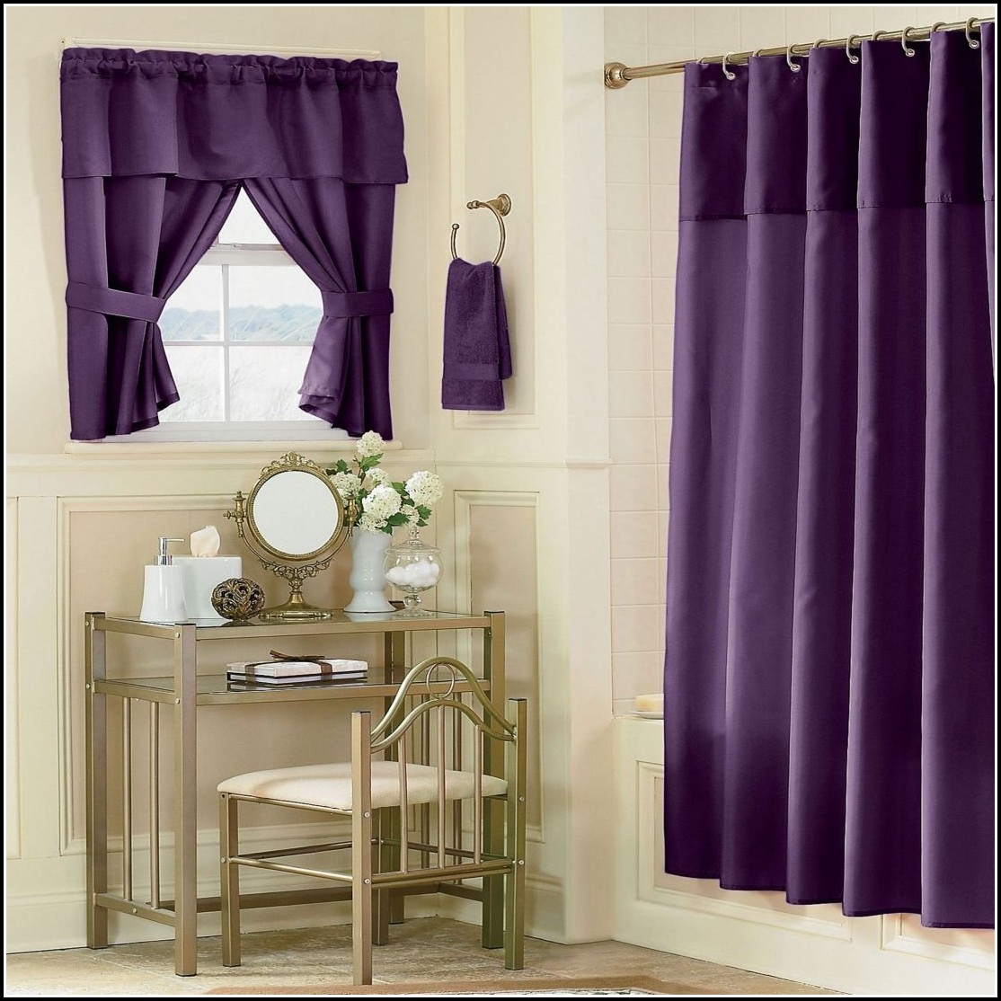 Curtains For Bathroom Window In Shower