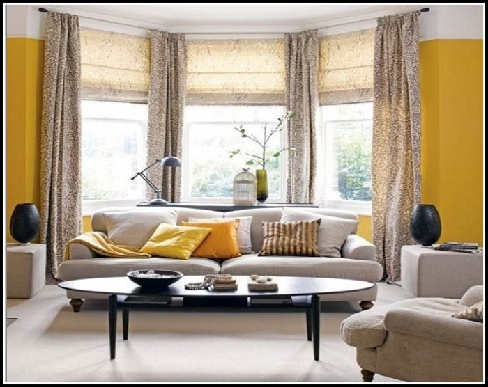 Curtains For Bay Window In Bedroom