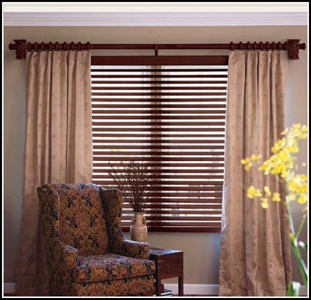 Decorative Double Bay Window Curtain Rod