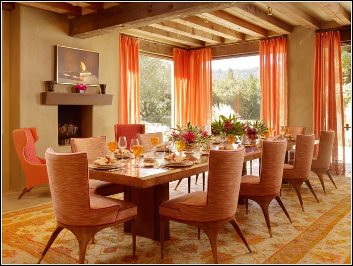 Dining Room Curtain Color Ideas