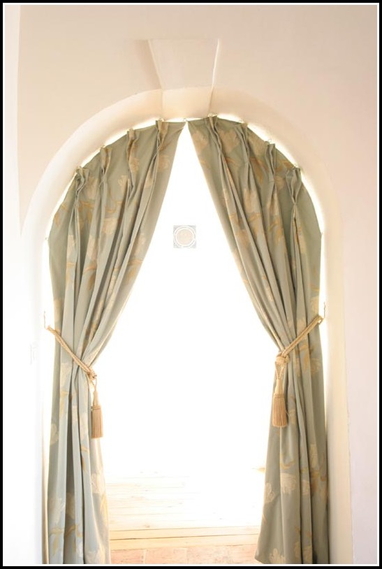 Diy Curtains For Arched Windows
