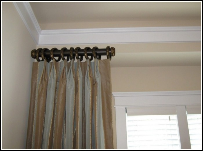 Short Side Panel Curtain Rods Curtains Home Design