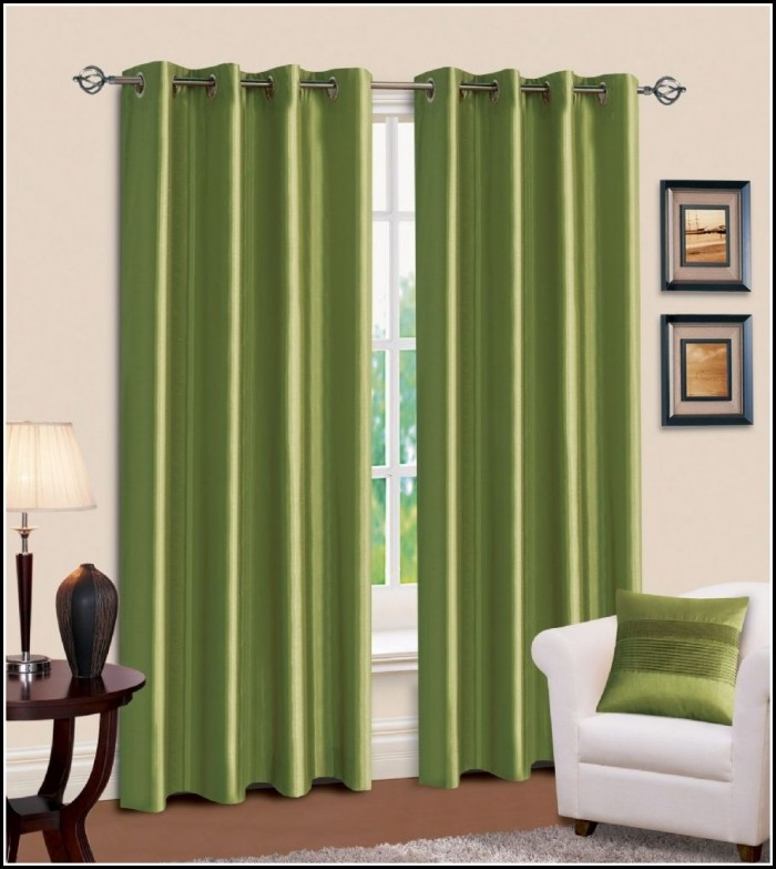 Eclipse Lime Green Blackout Curtains